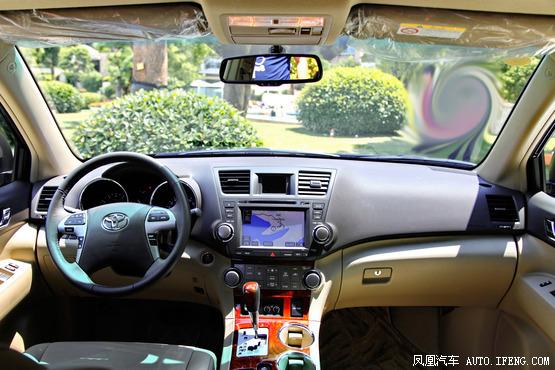 2012款 丰田汉兰达 3.5L四驱至尊版 7座