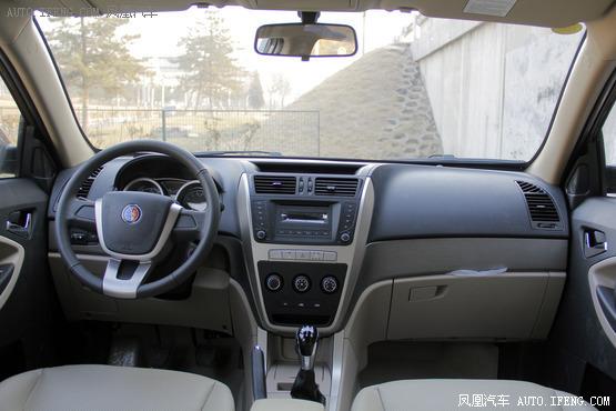 2013款 吉利英伦SX7 1.8L 手动进取型