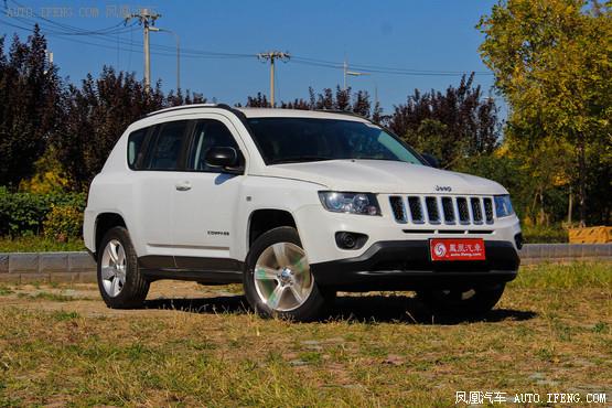 Jeep指南者最高优惠5.4万元 有少量现车