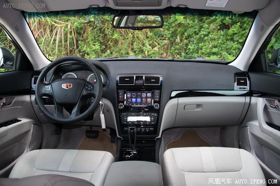 2013款 吉利帝豪EC8 2.4L 自动旗舰型