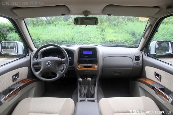 2013款东风风度奥丁2.5t柴油手动四驱豪华版高清图片