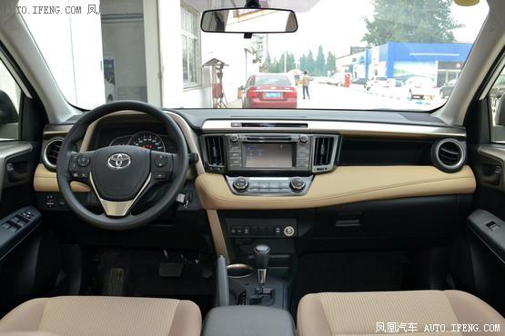 2014款 丰田RAV4 2.0L 自动四驱风尚版