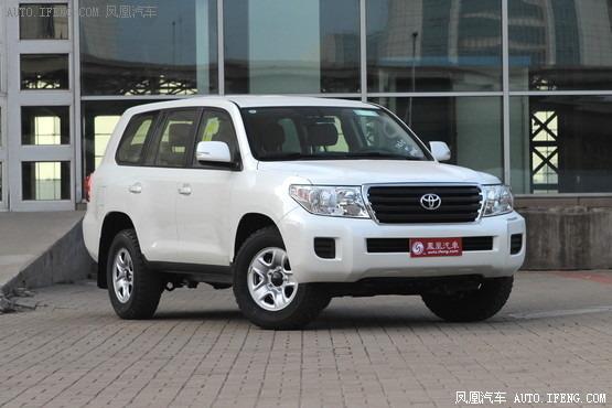 丰田兰德酷路泽最高降10.5万 现车销售