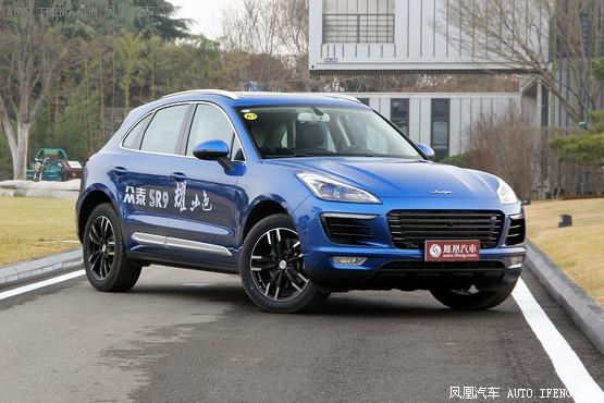 众泰SR9长沙新低价 现车优惠高达5000元