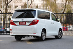 2012款 丰田埃尔法 2.4L 豪华版